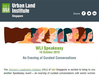 SOGdesign attend WLI initiative Singapore