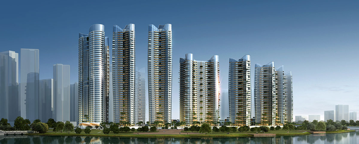 Masterplan Project in Huizhou, China by SOGDesign