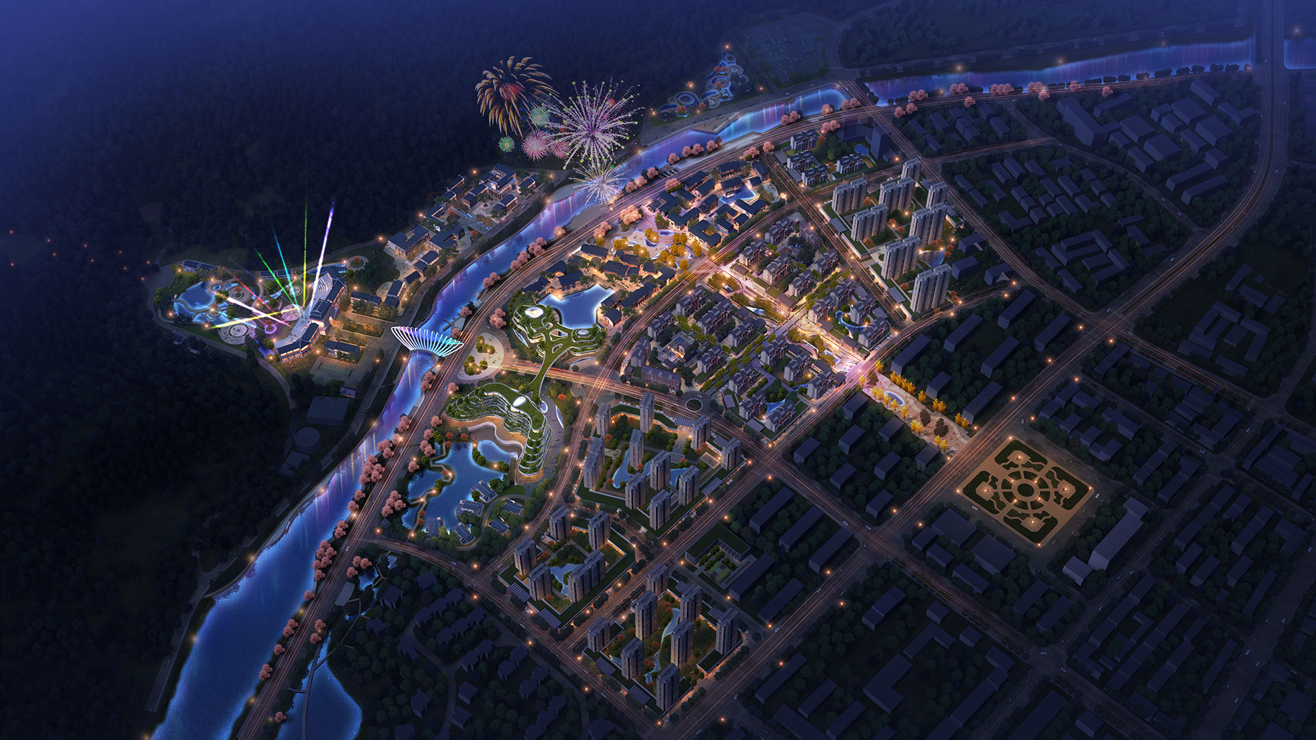 Masterplan for a new turistic destination in Hangzhou China