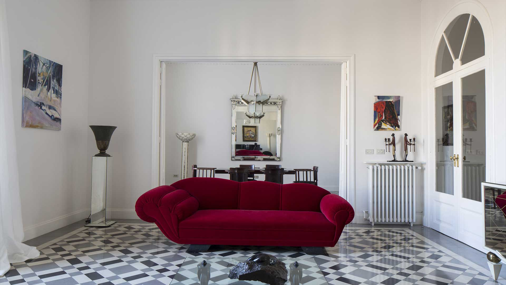 Architecture and Interior Design in Barcelona. Luxury apartment by SOGDesign