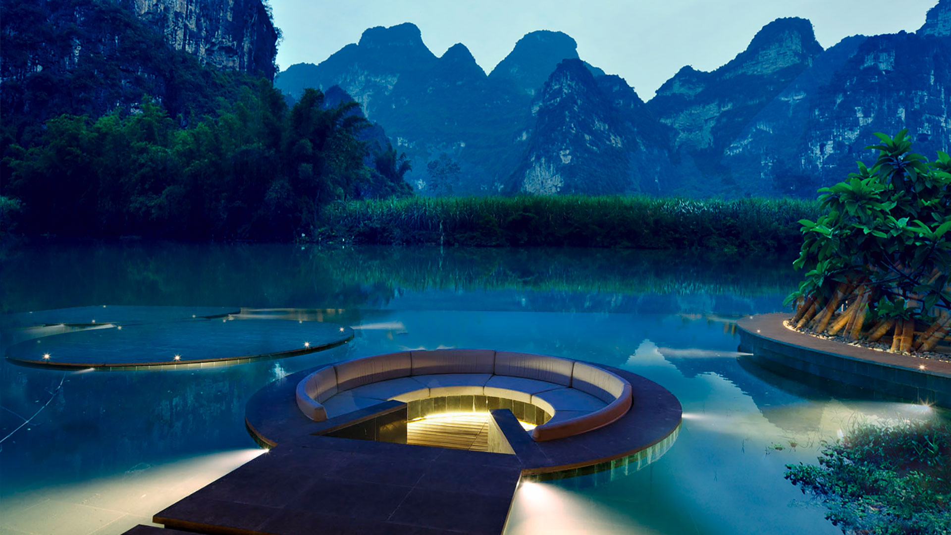 Resort and Hotel in Mingshi River SOGDesign